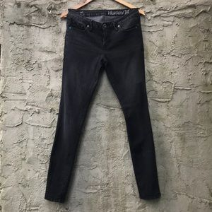 Hurley Black Jeans Size 9